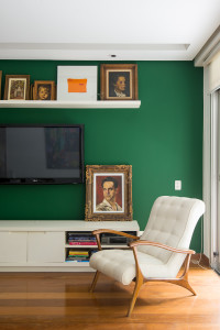 Fotografia de sala residencial