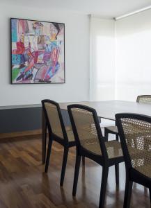Fotografia de sala de jantar residencial